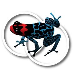 Dart frog vector