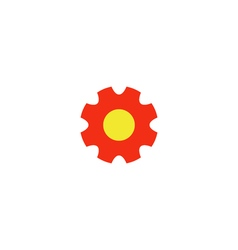 Gear Icon vector image