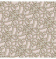 gSeamless lace pattern vector image