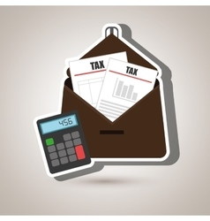 Portfolio tax calculator pay vector