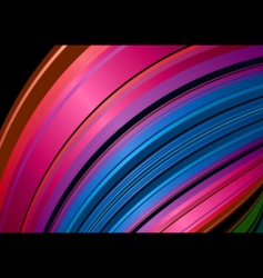 rainbow shell background vector image vector image