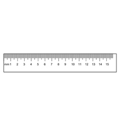 ruler vector image vector image