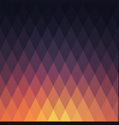 sunset abstract geometric background vector image vector image