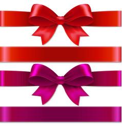 Color bows vector