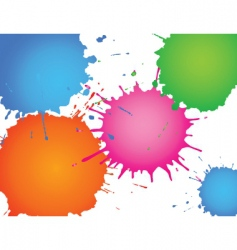 Splatter ink vector