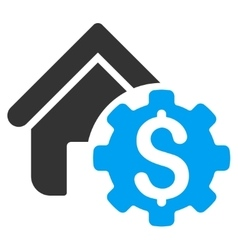 House rent options icon vector