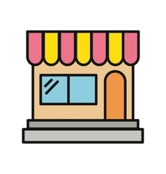 Store and shop icon vector