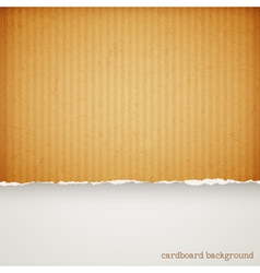 Cardboard background vector