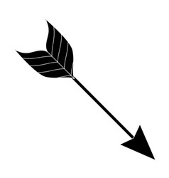 arrow style boho icon vector image vector image