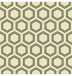 Honey comb pattern vector
