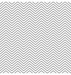 seamless pattern zig zag vector image vector image