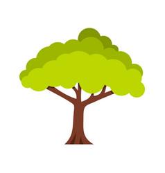 Tree icon flat style vector