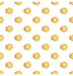 Brake disk pattern cartoon style vector