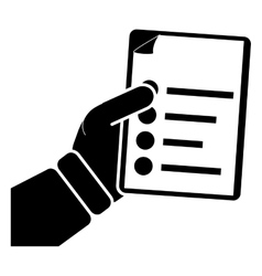 Document icon image vector