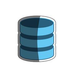 Hard disk technology vector