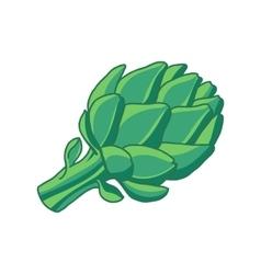 Hop cone vector image