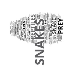 Gigantic reptiles text background word cloud vector