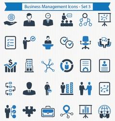 Business management icons - set 3 vector