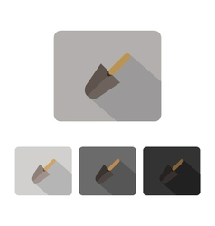 Icon trowel vector