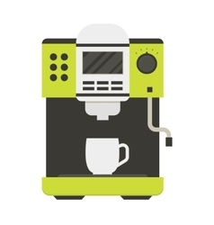 Coffee Machine with a Cup vector image