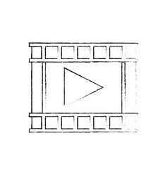 play video music multimedia concept vector image