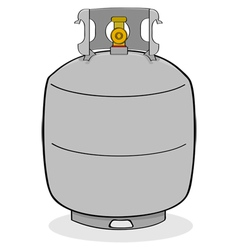 Propane tank vector
