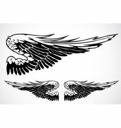 wingss vector image vector image