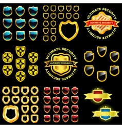 shields great collection vector image