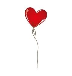 heart cartoon balloon icon image vector image vector image
