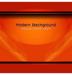 Orange modern background vector