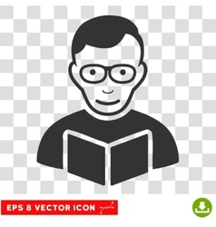 Reader eps icon vector