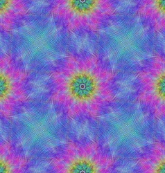 Seamless vibrant fractal pattern background vector