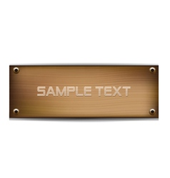 wood template vector image vector image