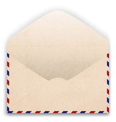 Aged Envelope Design vector image