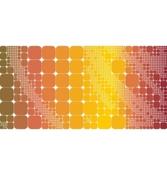 Square raibow gradient geometrical abstract vector