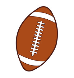 American football balloon icon vector