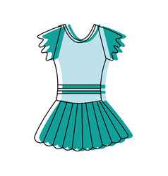 ballet costume design vector image