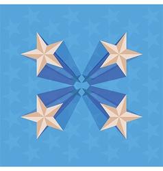 Stars perspective vector