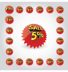 sale 01 vector image