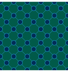 Peacock polka dot chess board background vector