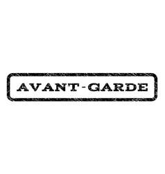 Avant-garde watermark stamp vector