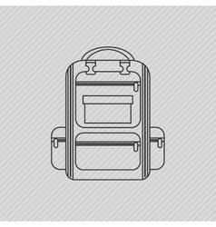 field day icon design vector image vector image