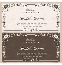 Invitation vector image vector image