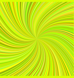 Lime color abstract swirl background vector
