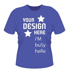 T shirt design with text vector