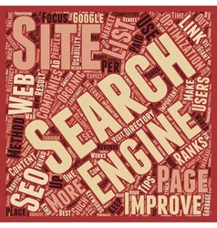 Ogseo best seo tips text background wordcloud vector