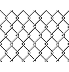 Steel mesh metal fence seamless structure vector