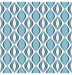 Seamless geometric pattern with diamond shapes vector