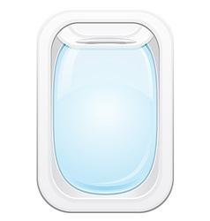 plane porthole 01 vector image