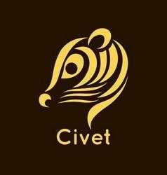 Civet logo vector